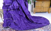 24 antique bustle dress 1874