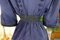 18 antique hobble skirt Dress 1913
