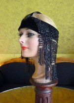 6a antique flapper headpice 1920