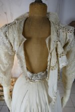 34a antique gown 1904