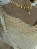 16 antique edwardian wedding dress 1909