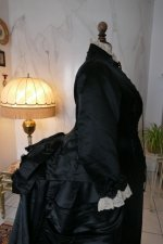 35 antique Pingat bustle dress 1880