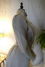 24a antique dress Redfern 1901