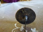 4 antique hat pin 1890