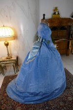 18 antique ball gown 1864