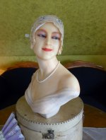 24 antique wax mannequin 1920