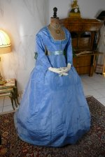 6 antique ball gown 1864