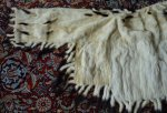 22 antique ermine cape