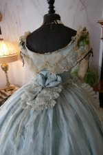 26 antique victorian ball gown 1859
