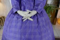 5 antique crinoline dress 1860
