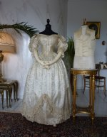 2 antique wedding ensemble 1835