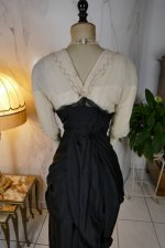 27 antique evening gown Nelmarie 1913