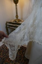 8 antique wedding dress Barcelona 1908