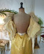 100 antique ball gown 1895
