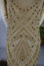26 antique beaded flapper evening dress 1922