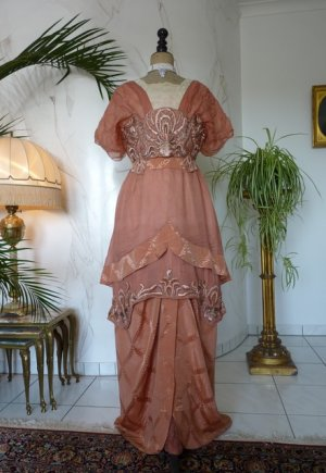 antique evening gown 1912