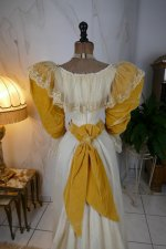 28 antique evening dress 1895