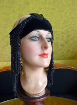 22 antique flapper headpice 1920
