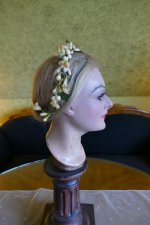 8 antique wax crown 1880