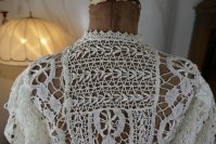 9 antique lace blouse 1916