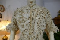 9 antique ALTMANN Battenburg lace dress 1904