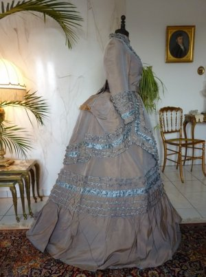 antique dress 1877