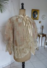 7 antique bed jacket