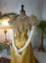 3 antique ball gown 1895