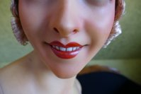 9 antique Pierre Imans wax mannequin 1920