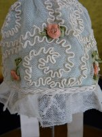 9a antique baby bonnet 1910