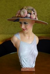 antique wax mannequin Imans 1920