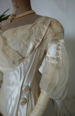 5 antique edwardian wedding dress 1909