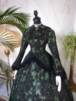 3 antique reception gown 1856
