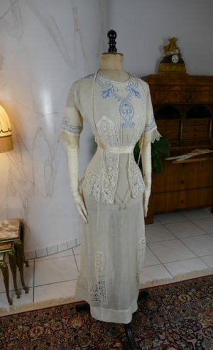 antique summer dress 1906