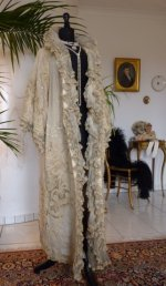 2 antique opera coat