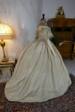 41 antique ball gown 1859