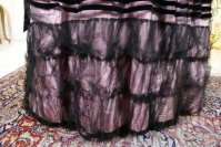 7 antique crinoline ball gown 1855
