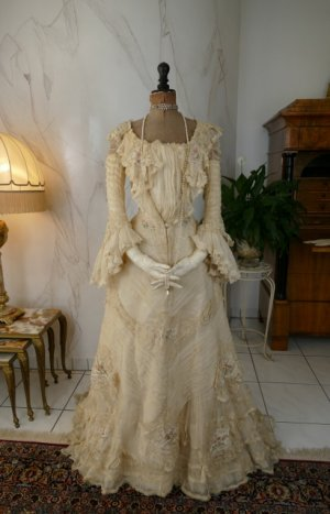 antique society dress 1901