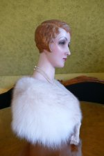 18 antique wax Bust 1920
