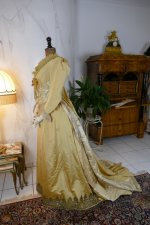 22 antique dress 1895