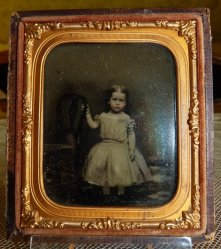 antique ambrotype 1858