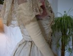 19 antique evening gown Henriette Tissier 1895