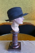 9 antique straw hat 1910