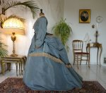 19 antique reception gown 1865