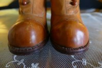 4 antique RADCLIFFE boots 1916