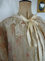 8 antique bed jacket