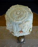 1 antique baby bonnet 1910