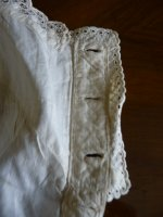 19 antique corset cover 1860