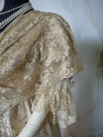 18 antique evening gown Worth 1910