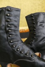 19 antique Facundo Garcia button boots 1879